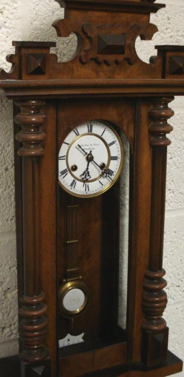 Andrew Charles Watch Amp Clock Makers Ltd Hitchin Herts Wall Clock Clwa023