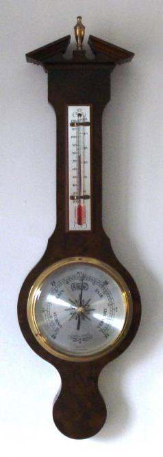 modern aneroid compensated barometer by comitti of london