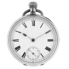 pocket watch full hunter half open face key wound stem silver gold pair case