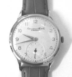 iwc and jaegar le coultre wrist watches for sale