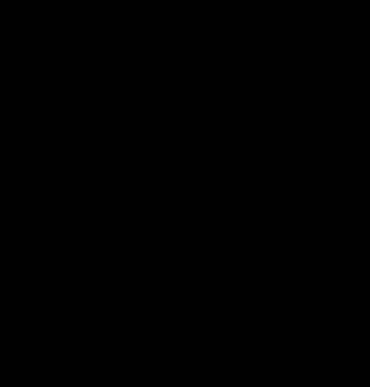 "German dark oak 8 day Westminster chime grandmother clock circa 1930 by HAC of Wurttenberg, spring driven and pendulum regulated. Round topped hood with ornamental barley twist columns and brass bezel with convex glass over a silvered dial with gilt Arabic hours and matching gilt hands and chime / silent control at 9 o/c.  Dimensions - height 60"", width 12.5"", depth 8.5""."